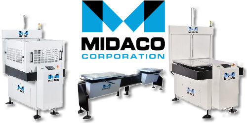 Midaco manual and automatic pallet changers